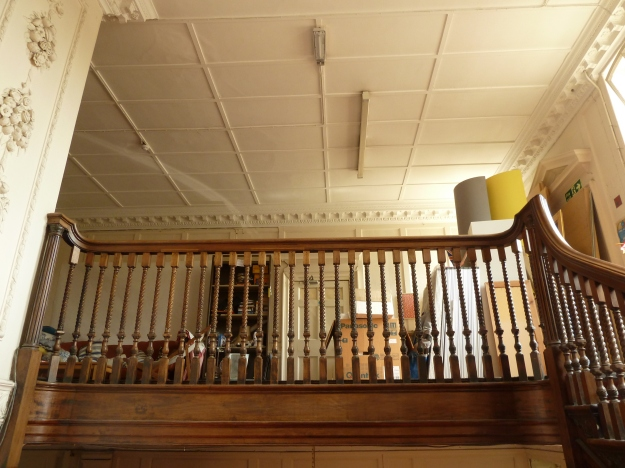 The first floor landing, as seen from the staircase