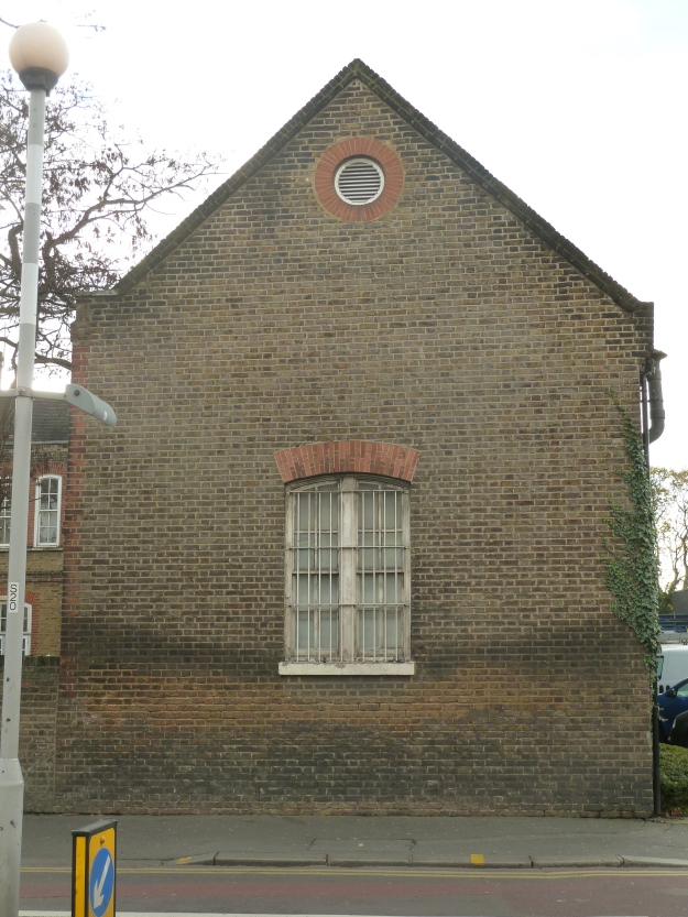The Stables Block fronting onto Hoe Street